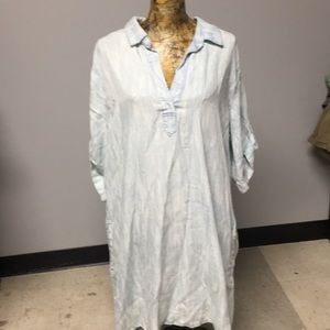 Philosophy shirt dress